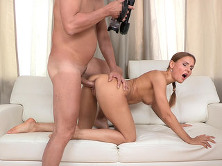 Teen with monster cock